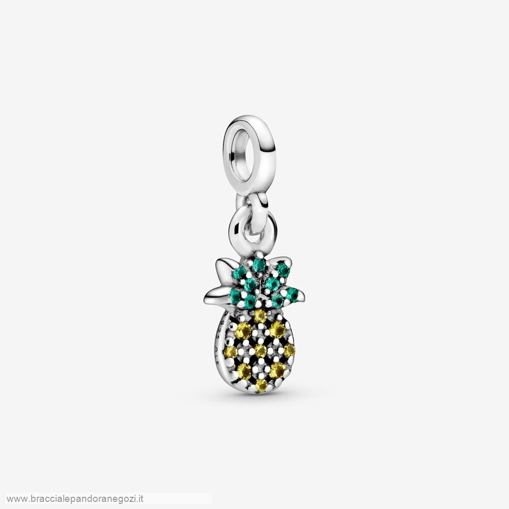 Sconti Pandora Italia My Pineapple Dangle Charm