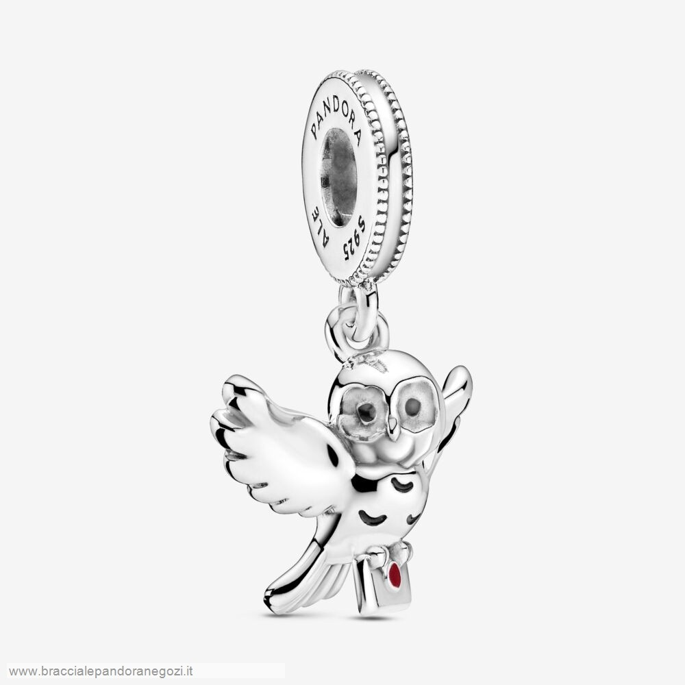 Sconti Pandora Italia Harry Potter, Hedwig Owl Dangle Charm